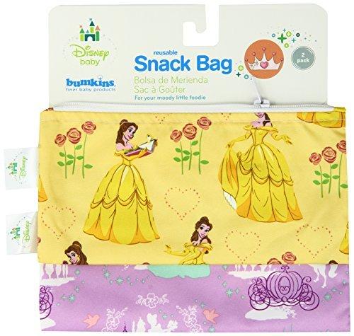 Amazon.com : Bumkins Disney Baby Reusable Snack Bag, Purple ...