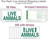 Live Animal Label Sets Pro Pack - 200 labels