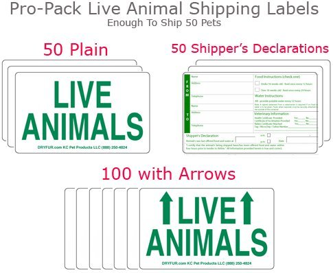 Live Animal Label Sets Pro Pack - 200 labels by DryFur (Image #1)