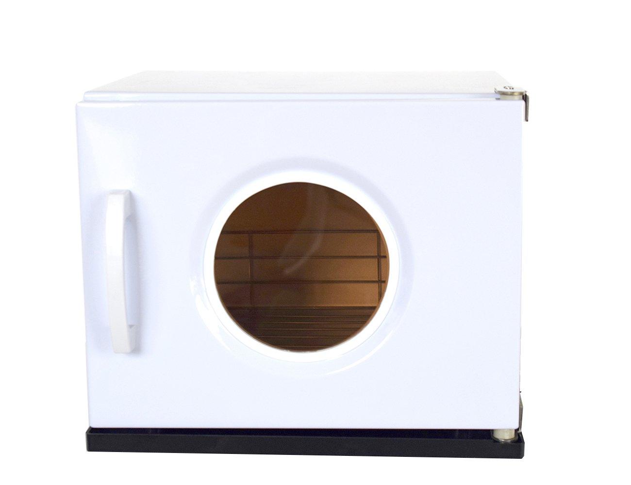 Elitzia toalla caliente Ultravioleta gabinete calentador esterilizador desinfectante para salón de belleza Spa tijeras pinzas abrazaderas uñas juegos armas ...