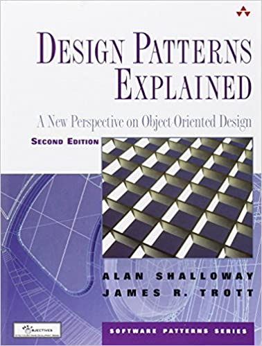 Design patterns explained a new perspective on object-oriented design