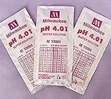 3-Pcs Super Popular pH4.01 Buffer Calibration Digital Tester Acid Alkaline Volume 20mL