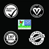 Vegan Flaxseed Oil with Plant-Based Omega's 3,6 & 9 ~ Vegan Certified & Non-GMO Project Verified