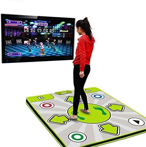 大人と子供用のダンスマットダンサーブランケット滑りにくい耐久性のある耐摩耗性ダンスゲームカーペット、HD品質