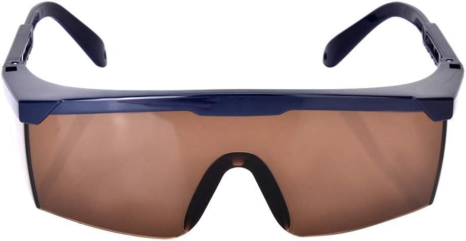 Protección para los ojos, gafas de seguridad de banda completa de 200-2000nm para mesa de operaciones con láser, depilación, entretenimiento láser