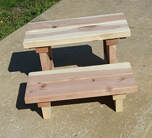 Two Tier Spa Step Redwood Steps