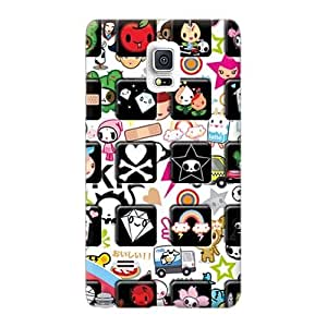 Samsung Galaxy Note 4 KWy1599nPfT Allow Personal Design Colorful Tokidoki Iphone Image Best Hard Phone Cases -KennethKaczmarek