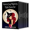 Witch Cozy Mystery Eight Book Set Audiobook by Amelia Morgan Narrated by Lainie Pahos