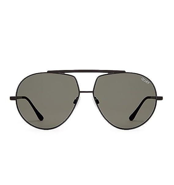 cec0c846de Quay Australia BLAZE Sunglasses in Black  Amazon.ca  Clothing   Accessories