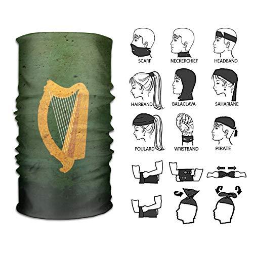 Chen AA Multifunctional The Irish Harp Headband Headscarf Head Wrap for Outdoor