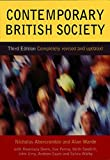 img - for Contemporary British Society by Nicholas Abercrombie (2000-04-17) book / textbook / text book