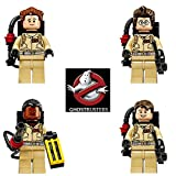GHOSTBUSTERS MINIFIGURES X 4