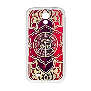 peace and justice obey Red star flowers Cell Phone Case for Samsung Galaxy S4