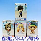 Chibikyun characters Amagi Brilliant Park anime Prize figures Banpresto (all four Furukonpu set)