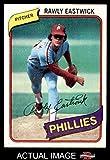 1980 Topps # 692 Rawly Eastwick Philadelphia Phillies (Baseball Card) Dean's Cards 8 - NM/MT Phillies