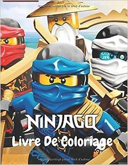 Ninjago Livre De Coloriage: Livre De Coloriage Ninjago ...