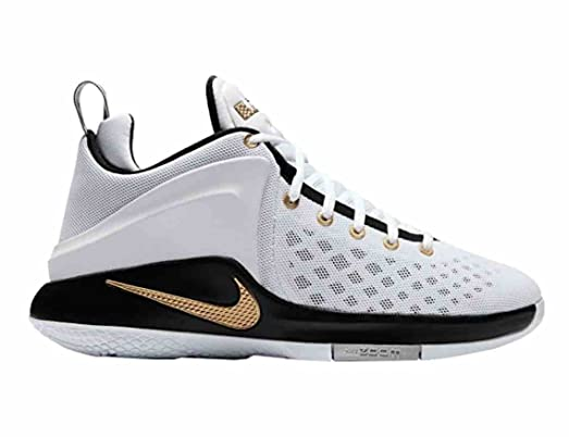 low priced 0b5a6 1560a ... usa nike mens lebron zoom witness sneakers white gold 13 36bd9 54f2b ...