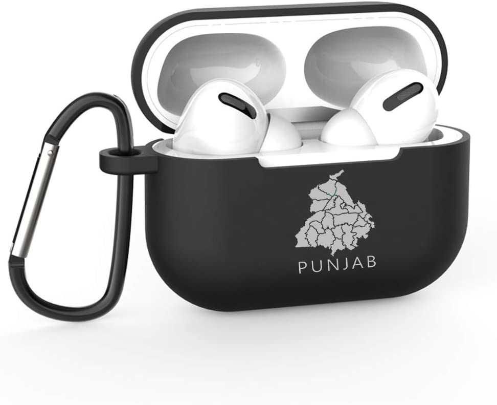 Punjab AYM8 Silicone Cases for Apple AirPods Pro Black