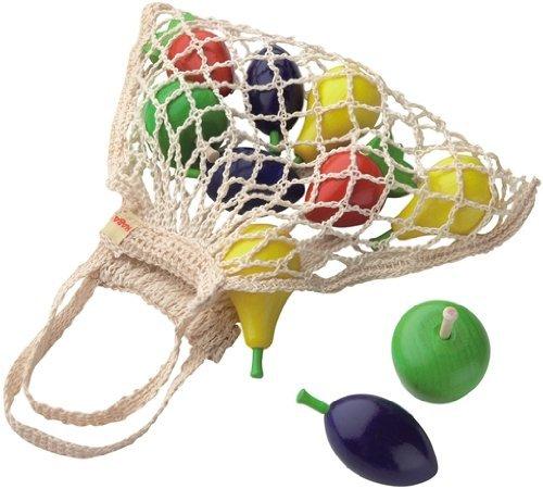 Haba Toy Bag (HABA Wooden Fruit Set in Shopping Bag)