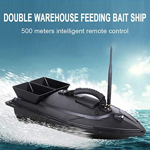 weituoli Langlebig Futterboot Angeln Fischfinder Outdoor F/ütterung Der Partikel Tackle Angeln Schwarz Praktisch
