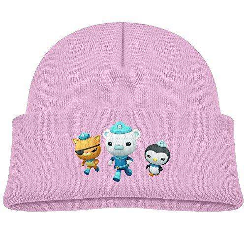 Kids The Octonauts Boys Girls Knit Beanie Cap Skull Hat Warm One Size
