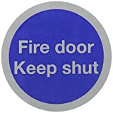 SIGNSLAB 76MM FIRE DOOR KEEP SHUT RDS15