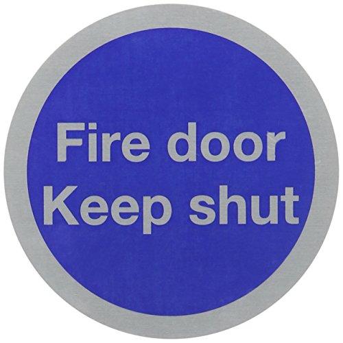 SIGNSLAB 76MM FIRE DOOR KEEP SHUT RDS15 by SIGNSLAB