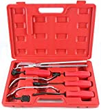 (KS) NEW! Set of 8pc - Professional Brake Tool Kit With Case - Automotive Hand Tools Drum Brakes