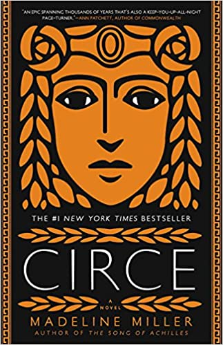 Cover art for the book entitled Circe