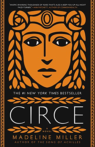 Book cover from CIRCE by Madeline Miller