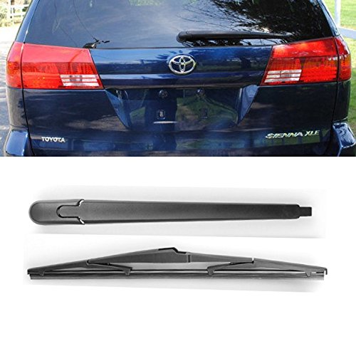 Amazon.com: Brand New For Toyota Sienna 2004 2005 Black Rear Window Windshield Wiper Arm + Blade Set: Automotive