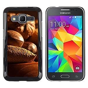 EJOY---Cubierta de la caja de protección la piel dura para el ** Samsung Galaxy Core Prime ** --Nueces