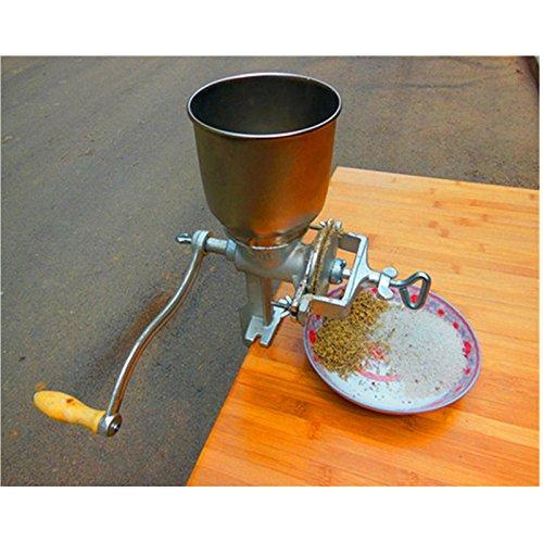 ZNXZZ Multifunction Corn Flour Mill Machine Home use Manual Maize Rice Soybean Peanut Coffee Cocoa Beans Grain Grinder