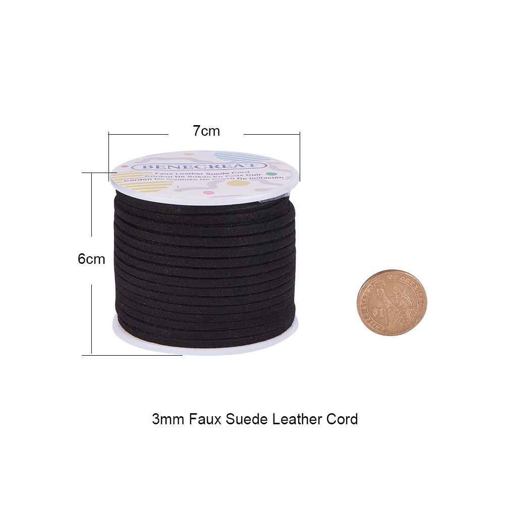 3m WHITE COLOUR FAUX MANMADE SUEDE//COLOUR THONG JEWELLERY MAKING CORD