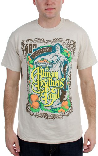 The Allman Brothers Band 40th Anniversary Angel Band T-Shirt Tee Select Shirt Size: XX-Large