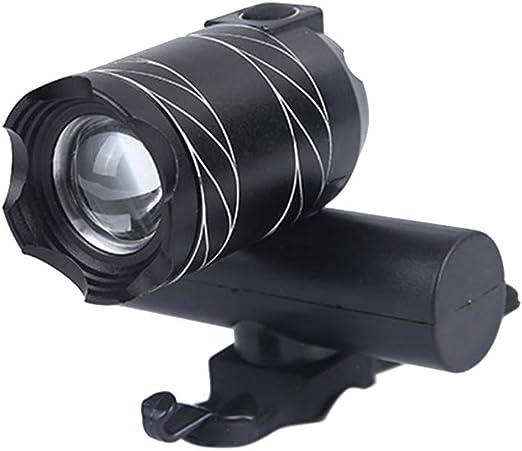 ENticerowts - Linterna Frontal para Bicicleta (luz LED T6 ...