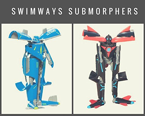 SwimWays Submorphers, Red/Black and Blue/Grey