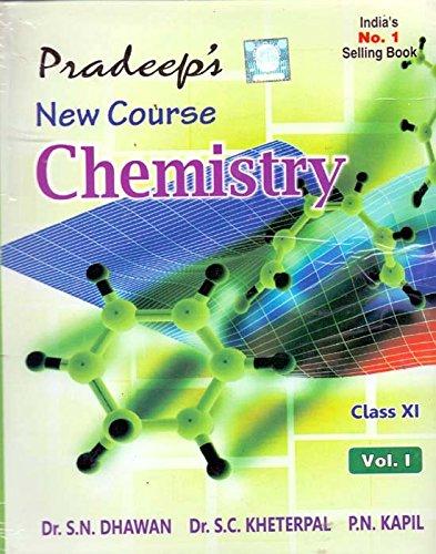 buy pradeep s new course chemistry vol i ii class 11 pradeep s rh amazon in Pool Chemistry Guide Chemistry Cheat Sheet