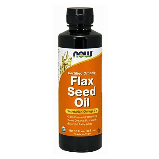 NOW Flax Seed Oil Liquid