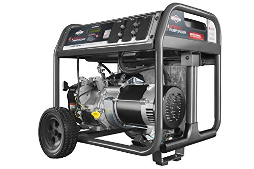 Briggs & Stratton 30592, 6250 Running Watts/8500 Starting Watts, Gas Powered Portable (Best Briggs & Stratton Gas Generators)