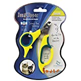 Zen Clipper Pet Nail Clippers for Puppies - Cats and Small Animals - the Worry-Free Nail Scissors - Unique Blade Clips the Tip Not the Quick - Stress Injury-Free Nail Cutting and Grooming - 2.5mm
