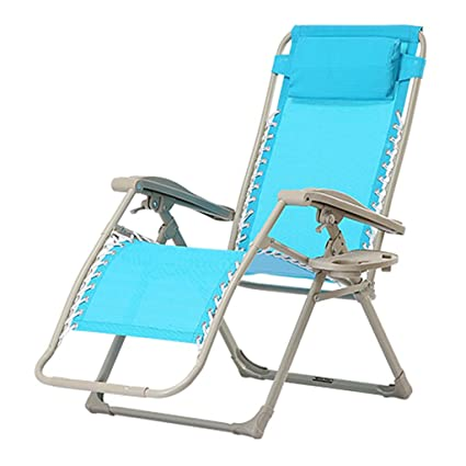 Amazon.com: Folding Bed Deck Chair Beach Chair Office Lunch ...