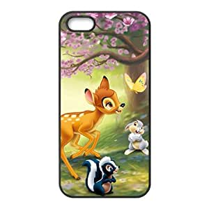 Lovely deer butterfly rabbit squirrel Cell Phone Case for iPhone 5S