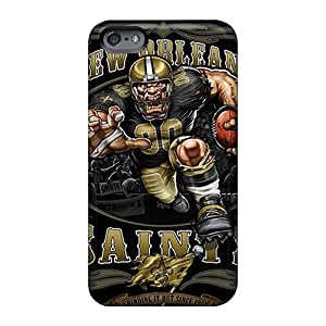 CharlesPoirier Apple Iphone 6s Protector Cell-phone Hard Covers Custom Colorful New Orleans Saints Pictures [Cuk1491LkzP]