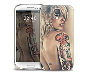 Sexy Tattoo Girl Samsung Galaxy S4 GS4 protective phone case