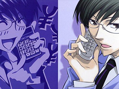 Ouran High School Host Club Kyoya Ootori Anime Manga Art Print Poster
