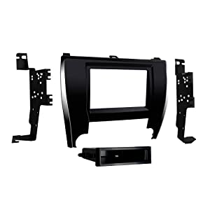 Metra 99-8249 Single/Double DIN Dash Kit for 2015 - Toyota Camry (Black)