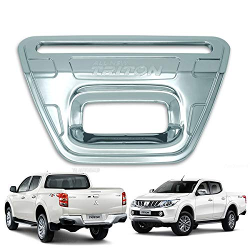 Powerwarauto Rear Tailgate Tail Gate Handle Cover Trim for Mitsubishi L200 Triton MQ 2WD 4WD UTE Pick-Up 2015 2016 2017 2018