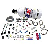 Nitrous Express 20927-15 35-75 HP x 2 Sport Compact EFI Dual Stage System with 15 lbs. Bottle