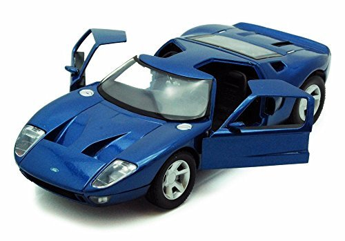 - Ford GT Concept, Silver - Showcasts 73297 - 1/24 Scale Diecast Model Toy Car (Brand New, but NO BOX)
